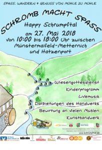 Plakat zum Schrumpftalfest 2018