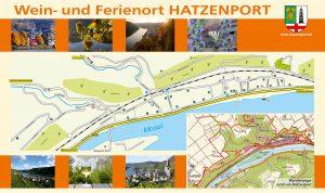 Ortsplan von Hatzenport